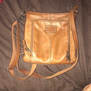 FOSSIL Vintage Style Leather Crossbody